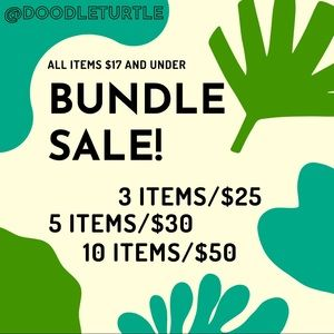 BUNDLE SALE!! 🐢 🌺